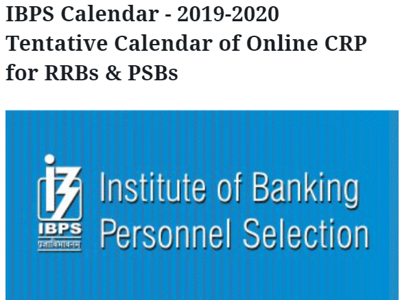 Po Calendar | Ibps Calendar 2019 2020 Clerk Po So Exam Dates Released Check